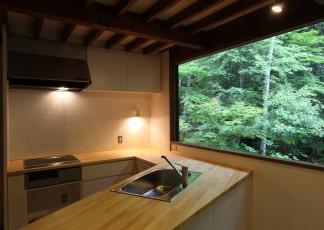 木曽の別荘