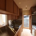 「蟻ヶ崎台の家」キッチン