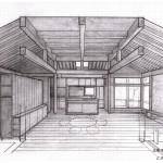 「北軽井沢の別荘」実施設計中