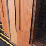 木製建具の網戸