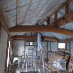 「土蔵の家」木工事