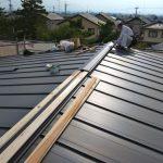 「山辺の家」屋根工事