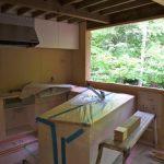 「木曽の別荘」キッチン