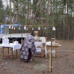 「北軽井沢の別荘」地鎮祭