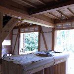 「長野の民家再生」キッチン台
