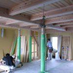 「束間の家」造作工事2