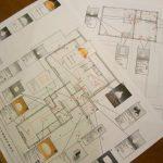 「森の見える家」仕上げ検討