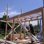 「蟻ヶ崎台の家」上棟式