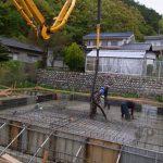 「束間の家」基礎工事