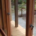 全開放出来る木製建具の金物類