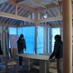「北軽井沢の別荘」ダイニングテーブルその2