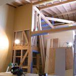 「大屋根でつつむ家」大工工事あとわずか
