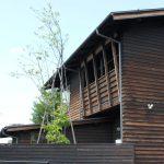 「桜並木の家」街並み